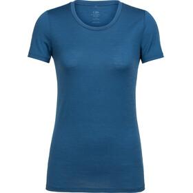 Icebreaker Tech Lite Naiset Lyhythihainen paita , sininen